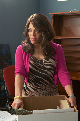 Lauren Velez as Lt. Maria Laguerta on Dexter. Photo courtesy of Showtime