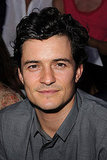 Orlando Bloom at the Spring 2012 Dior show.