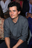 Orlando Bloom during Paris Fashion Week.