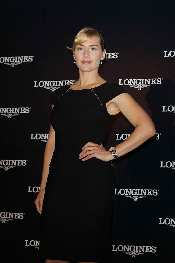 Kate Winslet promotes Logines.