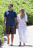 Molly Sims and Scott Stuber have fun in Hawaii.
