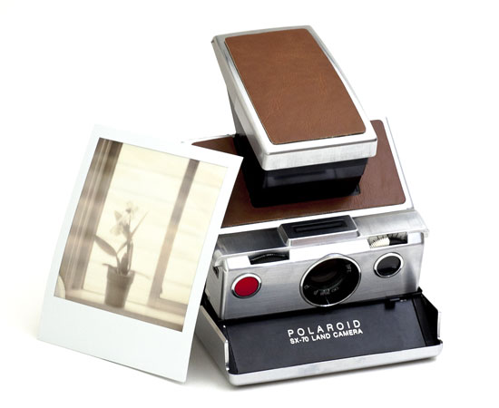 Limited Edition Polaroid SX-70 ($350)
