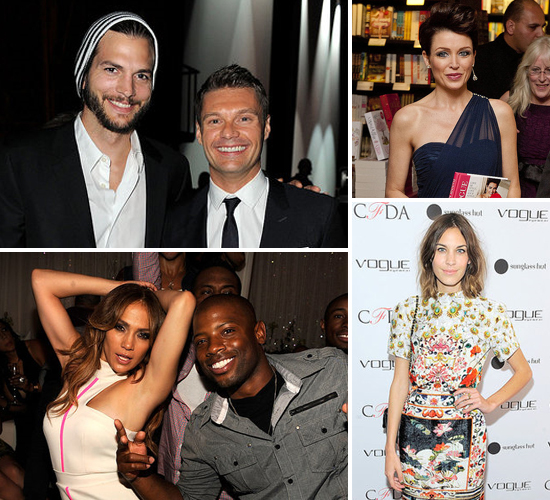 Celebrity Pictures of Ashton Kutcher, Jennifer Lopez, Scarlett Johansson, Alexa Chung