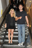 Jessica Simpson brings Eric Johnson to Macy's.