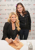 Jessica Simpson Celebrates Her New Ready-to-Wear Designs in SF With Eric Johnson