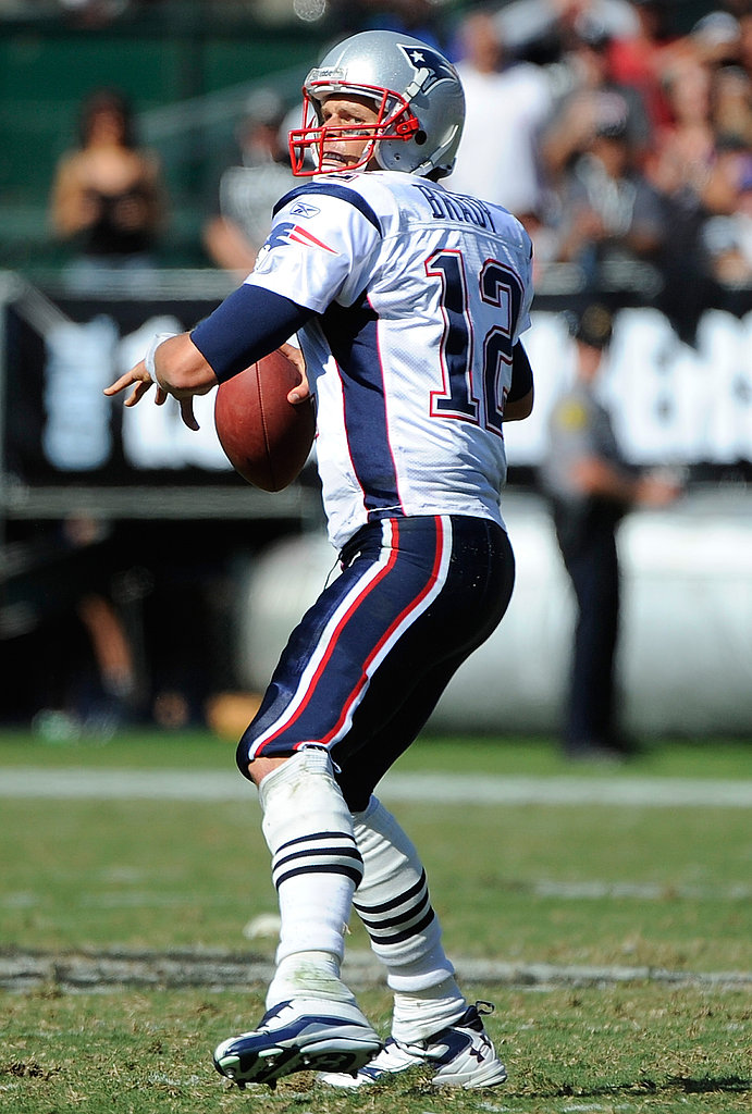 Tom Brady played in Oakland.