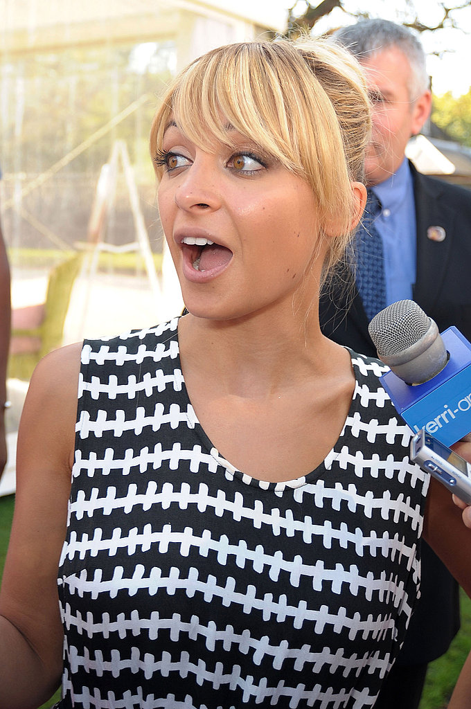 Nicole Richie at Disney's Princess Royal Court Celebration.