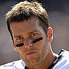 Tom Brady Short Hair Pictures in Oakland For Patriots Game
