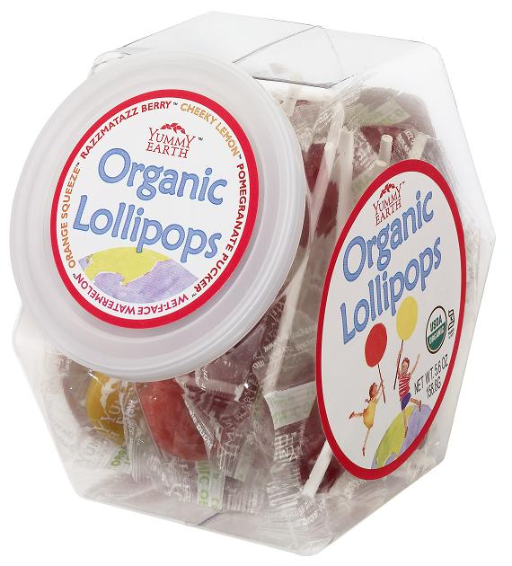 Yummy Earth Organic Lollipops ($25 for 150 lollipops)