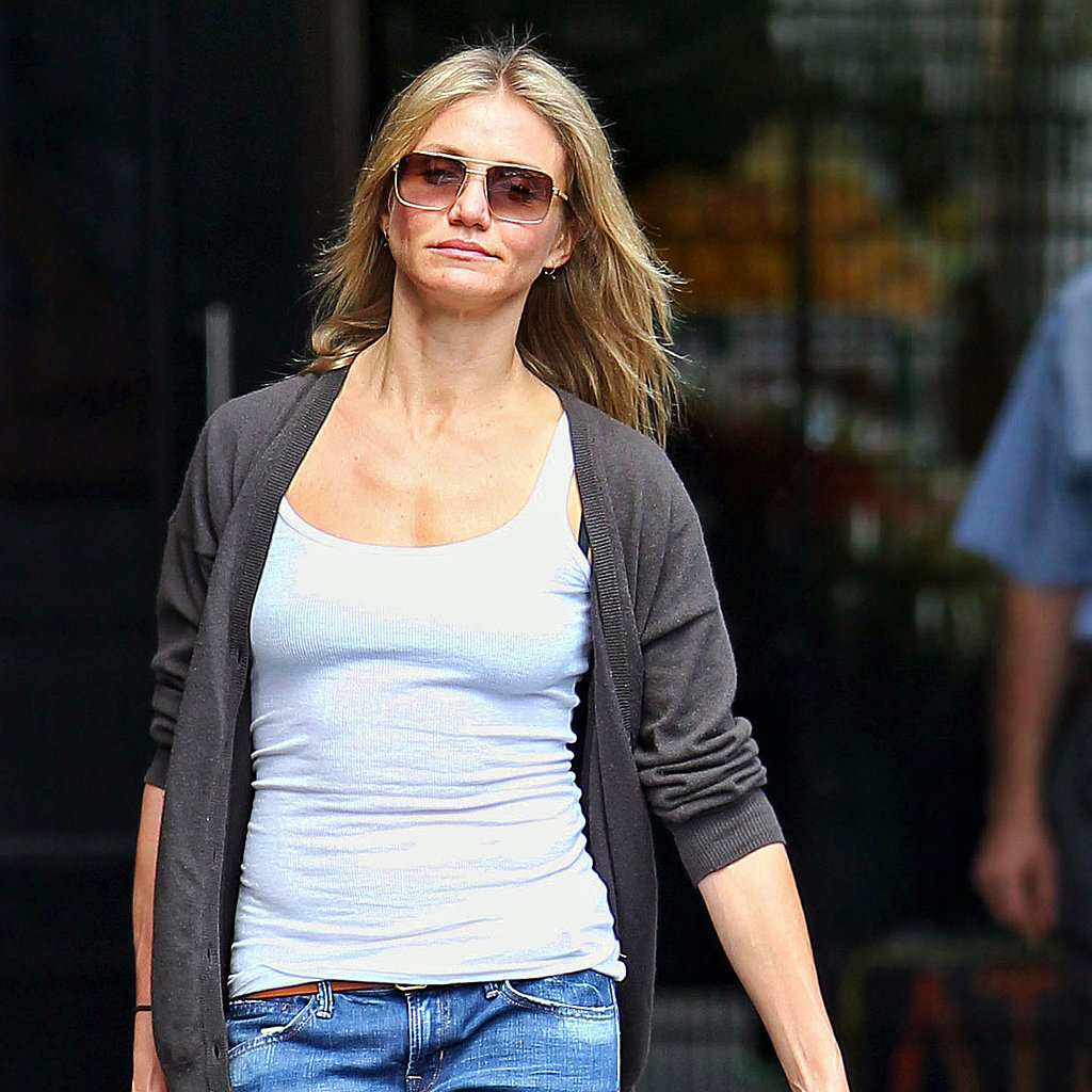 Newly single Cameron Diaz.