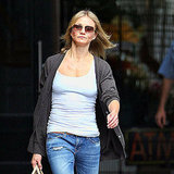 Cameron Diaz in NYC.