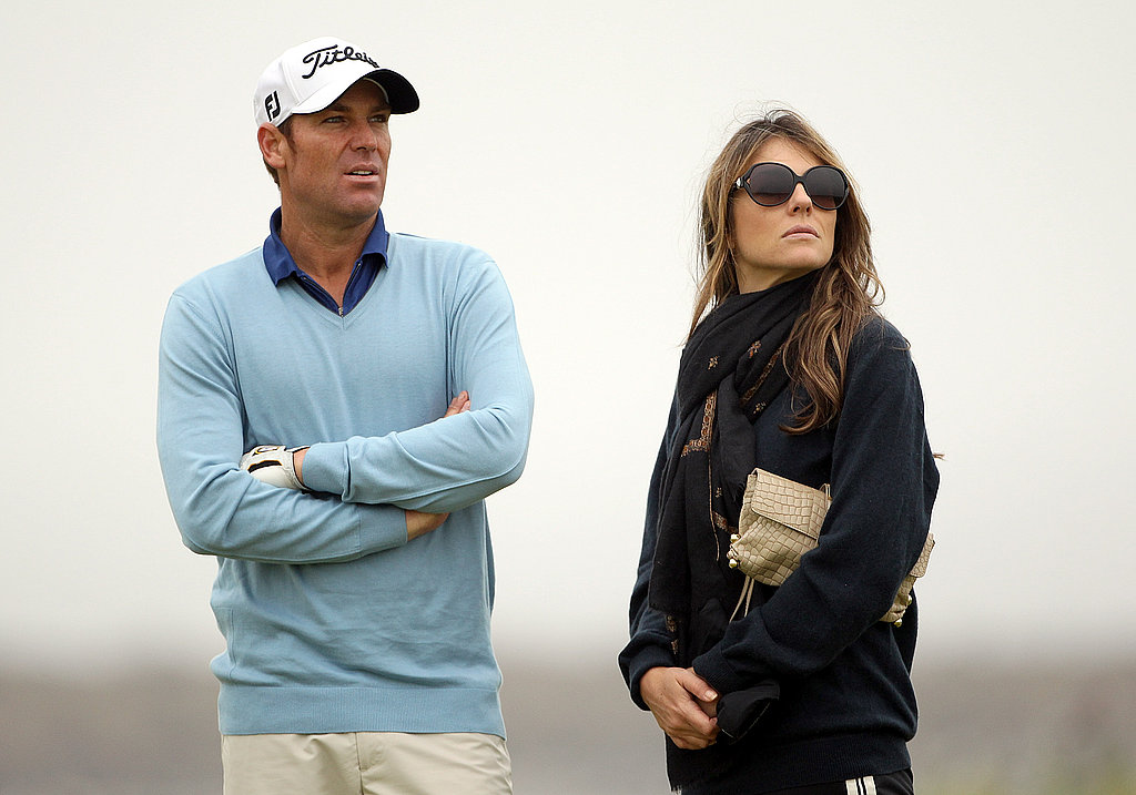 Shane Warne and Elizabeth Hurley Engagement