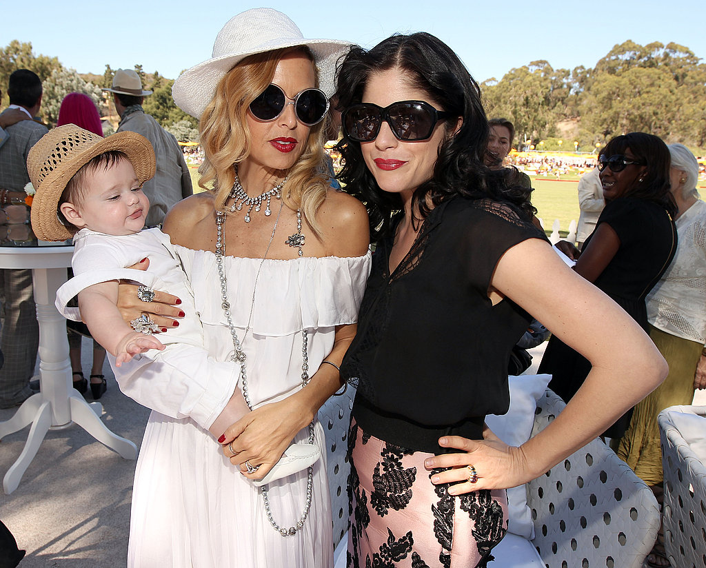 Skyler Berman, Rachel Zoe and Selma Blair