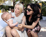 Arthur Bleick, Jaime King and Selma Blair