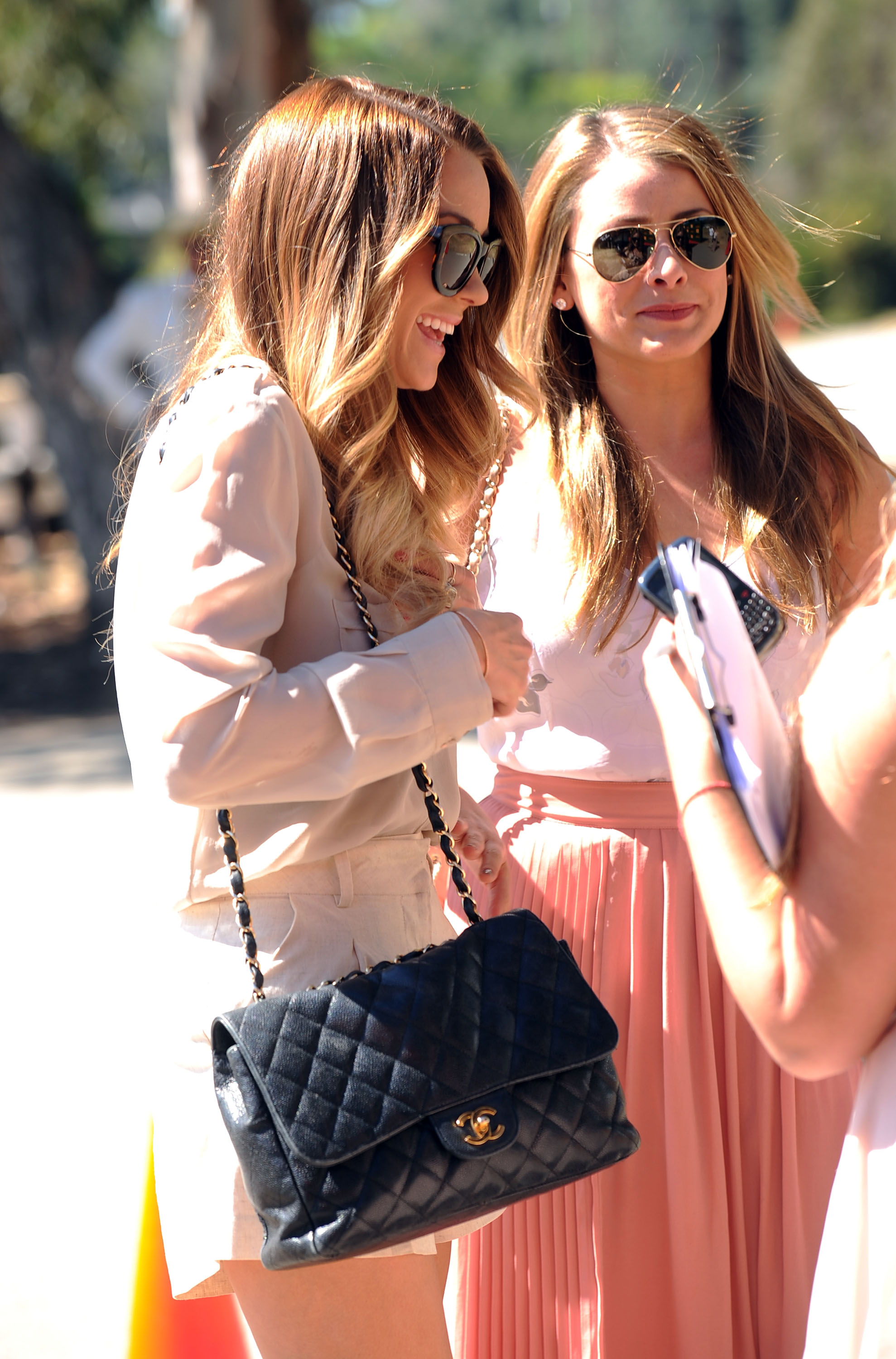 Lauren Conrad and Lo Bosworth