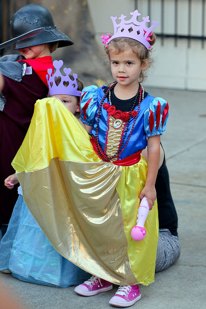 Honor dressed up like Snow White.