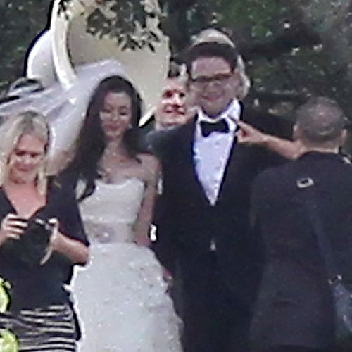 Seth Rogen Wedding Pictures With Bride Lauren Miller