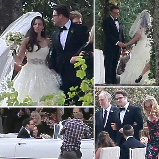 See Seth Rogen and Bride Lauren Miller's Gorgeous Wine Country Wedding Pictures!