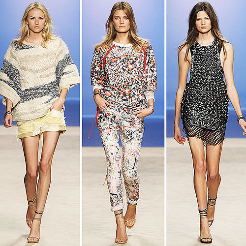 Review and Pictures of Isabel Marant 2012 Spring Summer Paris Fashion Week Runway Show