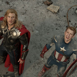 First Official Pictures From The Avengers