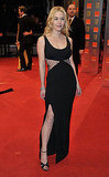 Kate Winslet wore a dramatic cutout dress to the Orange British Academy Film Awards in 2010.