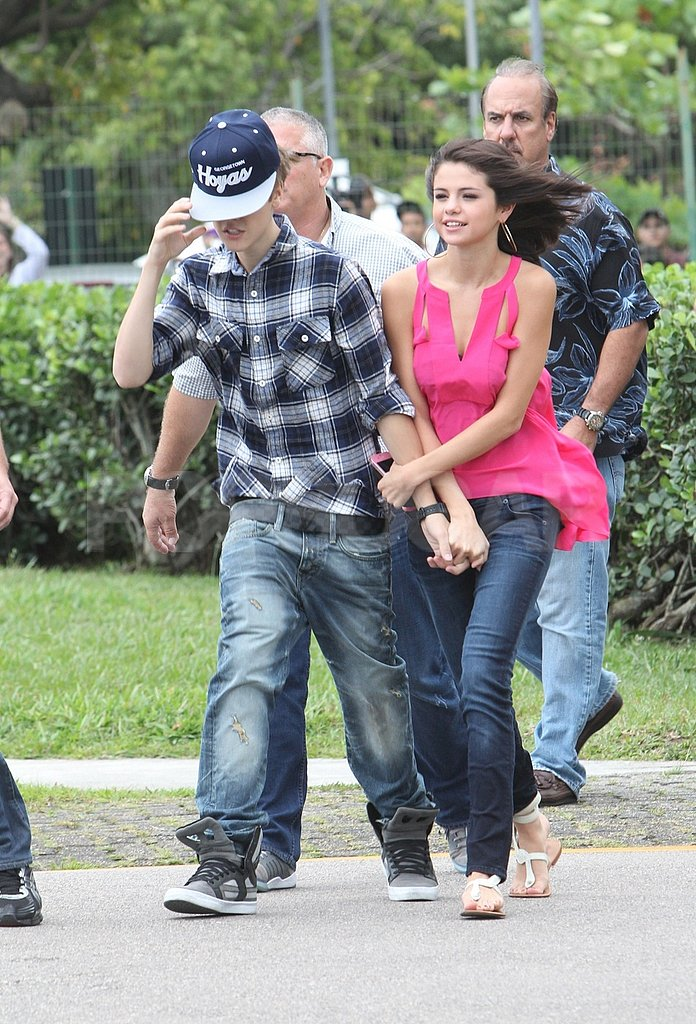 Selena Gomez and Justin Bieber took in the sights in Rio de Janeiro.