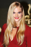 Gabriella Wilde at the London premiere of The Three Musketeers.