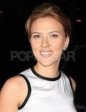 Scarlett Johansson smiled in NYC.