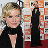 Kirsten Dunst Wears Chloe Black Gown to Melancholia Premiere