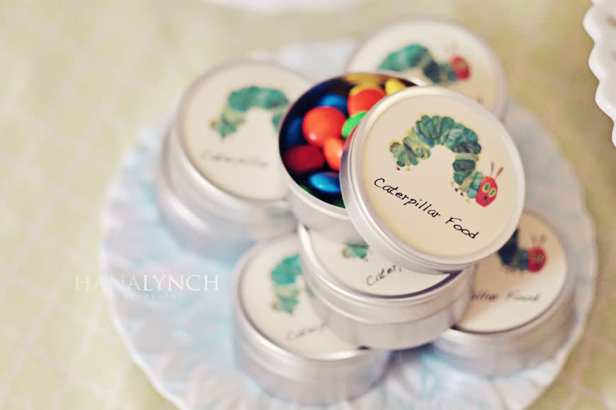 The Very Hungry Caterpillar Party Favors