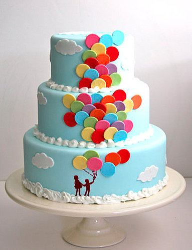 Come Fly With Me Balloon Cake
