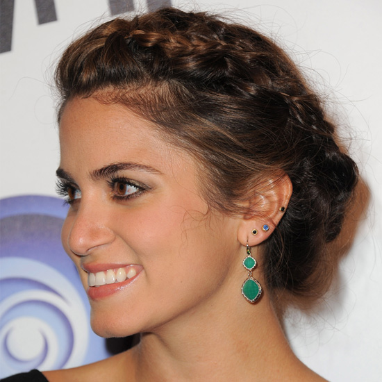 Get Nikki Reed's Braids-on-Braids Updo Look