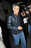 George Clooney made a public appearance in NYC.
