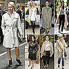 Celebrities Wearing Trench Coats For Fall 2011