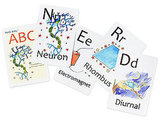 Nerdy Baby ABC Flashcards for Very Young Scientists ($19)
