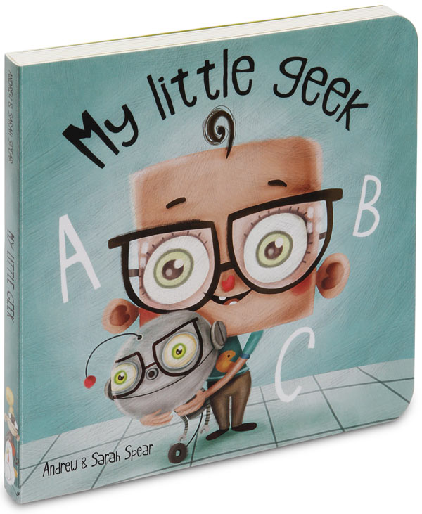 My Little Geek ABC Book ($20)