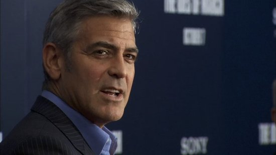 Video: George Clooney Reveals What Embarrasses Him at The Ides of March NY Premiere!