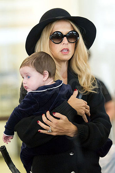 Rachel Zoe and Little Skyler Touch Down in LA Home From Paris Fashion Week Adventures