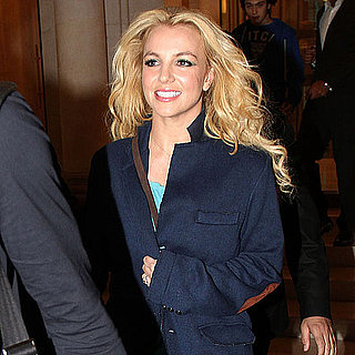 Britney Spears Pictures Leaving Her French Hotel For a Concert