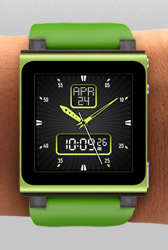 The 18 Faces of the iPod Nano Watch