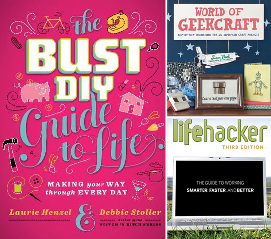 The 5 Best Books For a Crafty, DIY Life