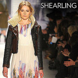 Why we love it: We love the rustic, Winter-chic vibe, and the contrast it lends to more feminine wear, like the shearling biker jacket on Tibi's Fall runway. How to wear it: Shearling adds a luxurious finish to denim, leather, and beyond. We'll wear ours over softer dresses for a cool contrast, or to add extra coziness over a cable-knit sweater.  Shop the runway: Tibi Shearling Biker Jacket ($1,450)