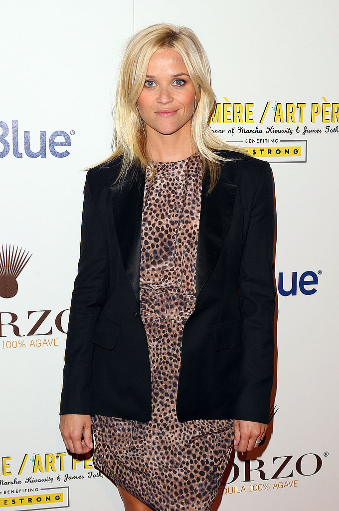 Reese Witherspoon at the second annual Art Mere/Art Pere Night at Smashbox West Hollywood.