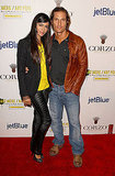 Matthew McConaughey and Camila Alves at the second annual Art Mere/Art Pere Night at Smashbox West Hollywood.