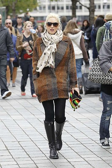 Gwen Stefani strolled in London.