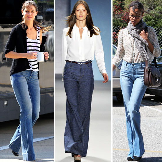 Celebs Show Off Fall's Flared Jeans Trend — Shop the Look!