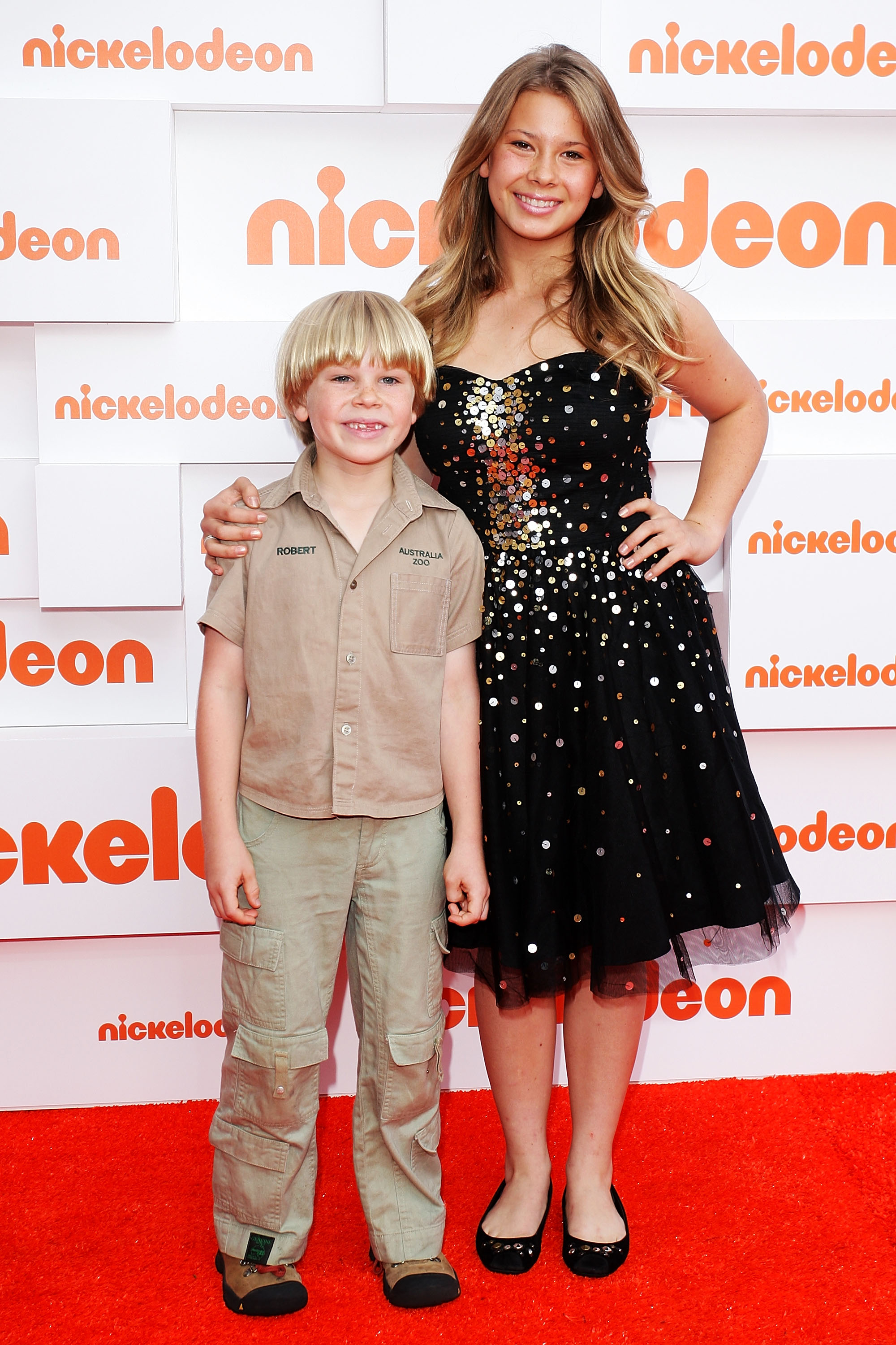 Robert and Bindi Irwin