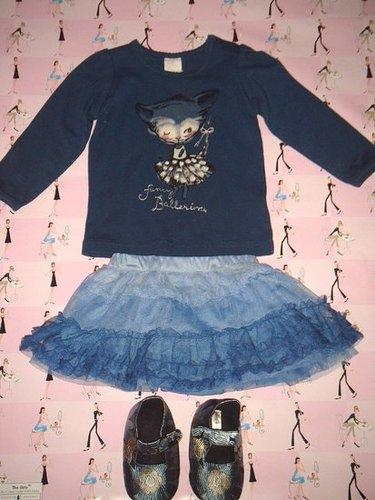 Little Girls in Blue