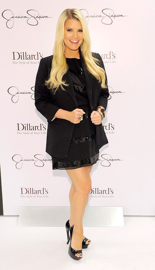 Jessica Simpson Is a Splash of Blonde and Black For a New Orleans JS Collection Event