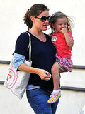 Jennifer Garner brought Seraphina Affleck along to run errands in LA.